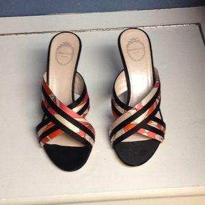 Pucci multi colored heels